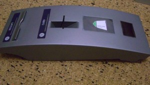 A GSM-based ATM card skimmer.