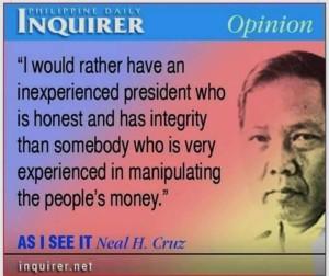 Neal Cruz - Philippine Inquire