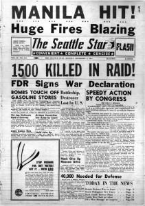 Manila Bombed by Japanese