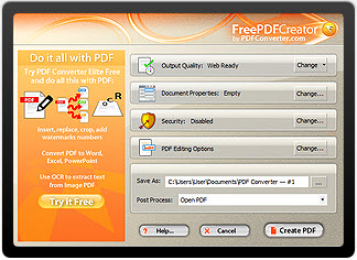FreePDF Creator