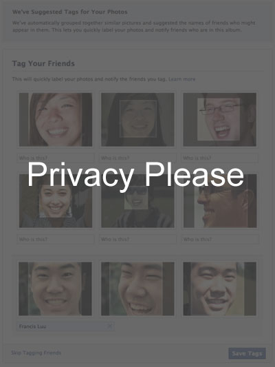 Facebook - Privacy Please