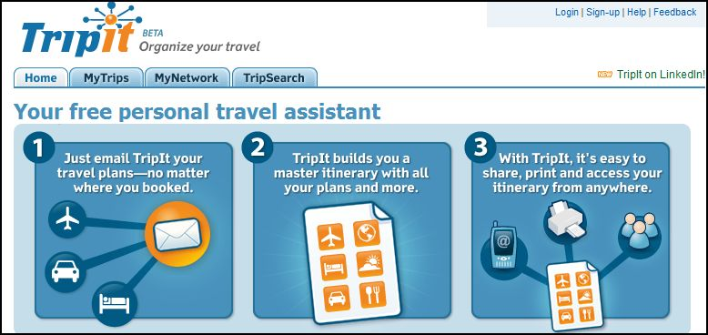 trip it screen1 - Organize your travel plans and intinerary