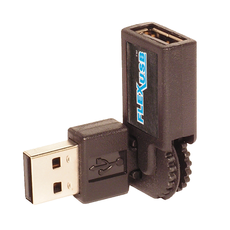 flexusb 225x2251 - Right angled usb, surge protector, hdmi, cables and more