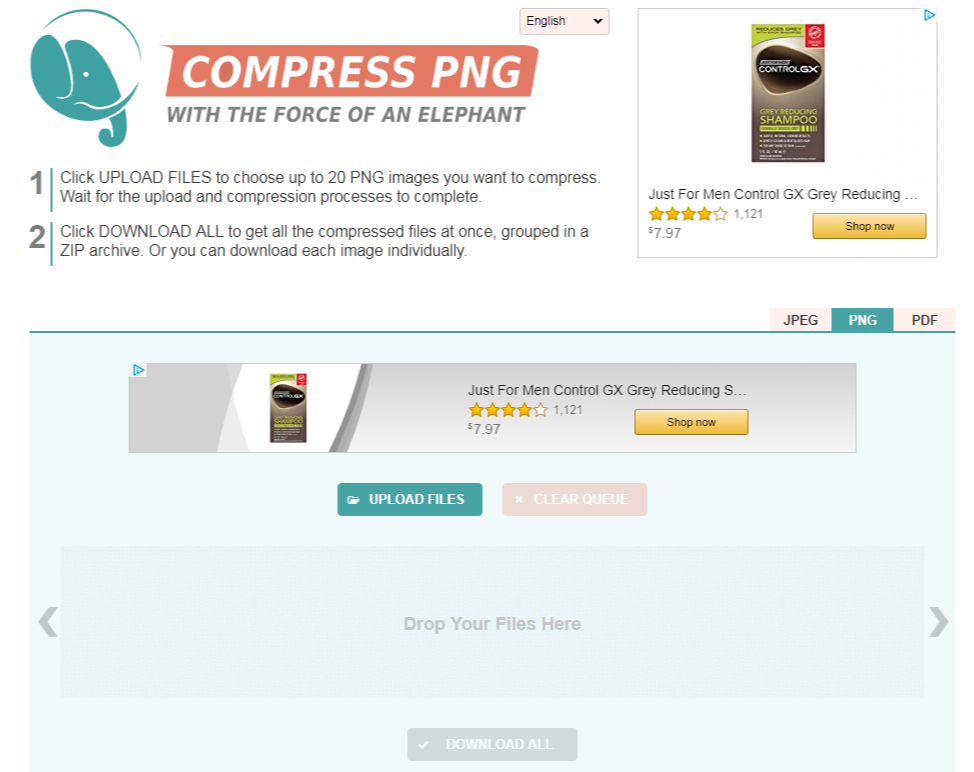compresspng - Optimize your Image File Sizes Free