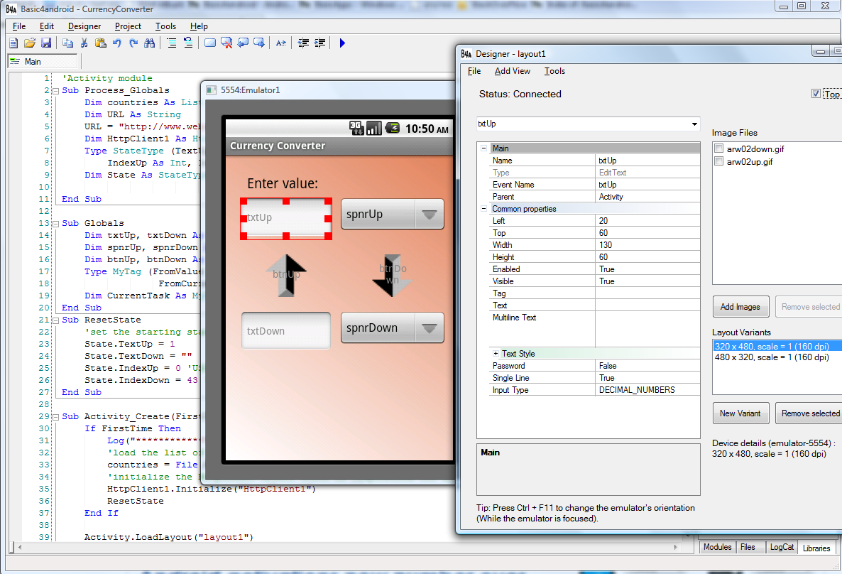 ide designer1 - Rapid Application Development (RAD) tool available for the Android platform