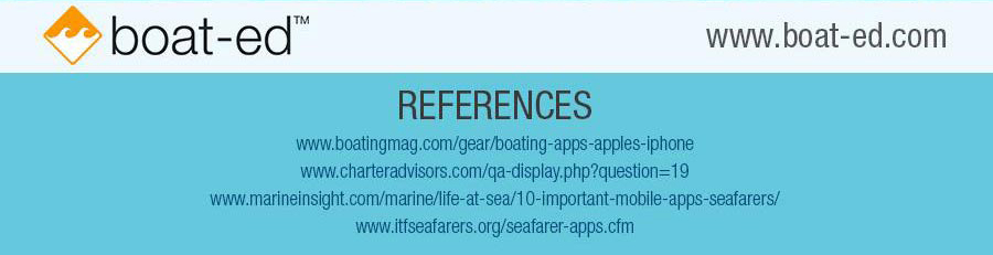 sea apps9 - Maritime Information Technology: Must Have Apps for People at Sea.