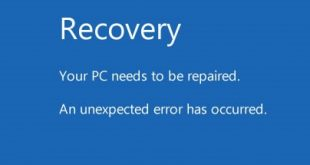"""your pc needs to be repaired 2 310x165 - How to fix """"Your PC needs to be repaired"""" error"""
