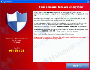 cryptolocker - cryptowall