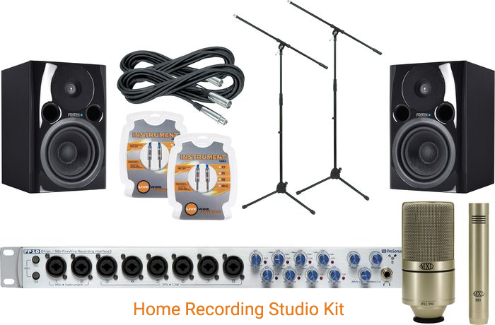 Home Recording Studio Kit - How to Setup a Home Recording Studio