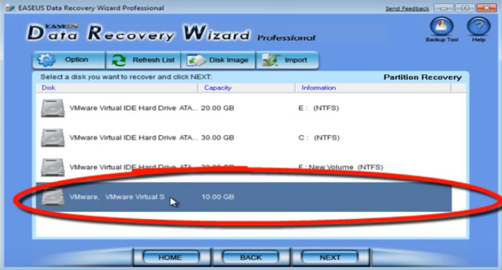 partitionrecoverydisk - Free Data Recovery Software