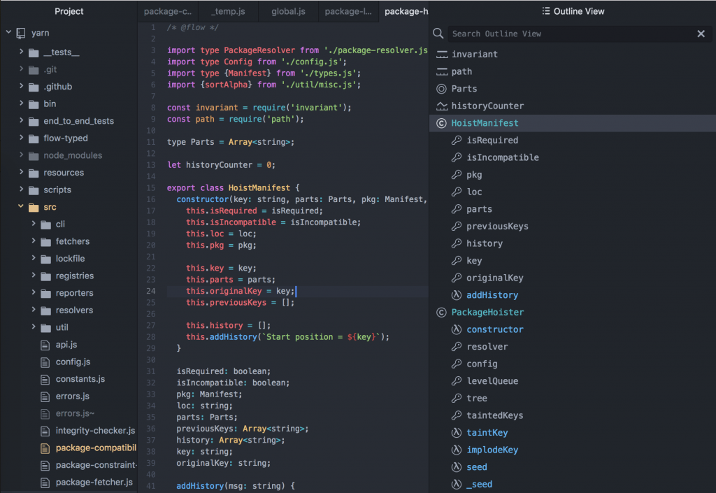 atom ide 1024x705 - The Best Code Editors for Linux