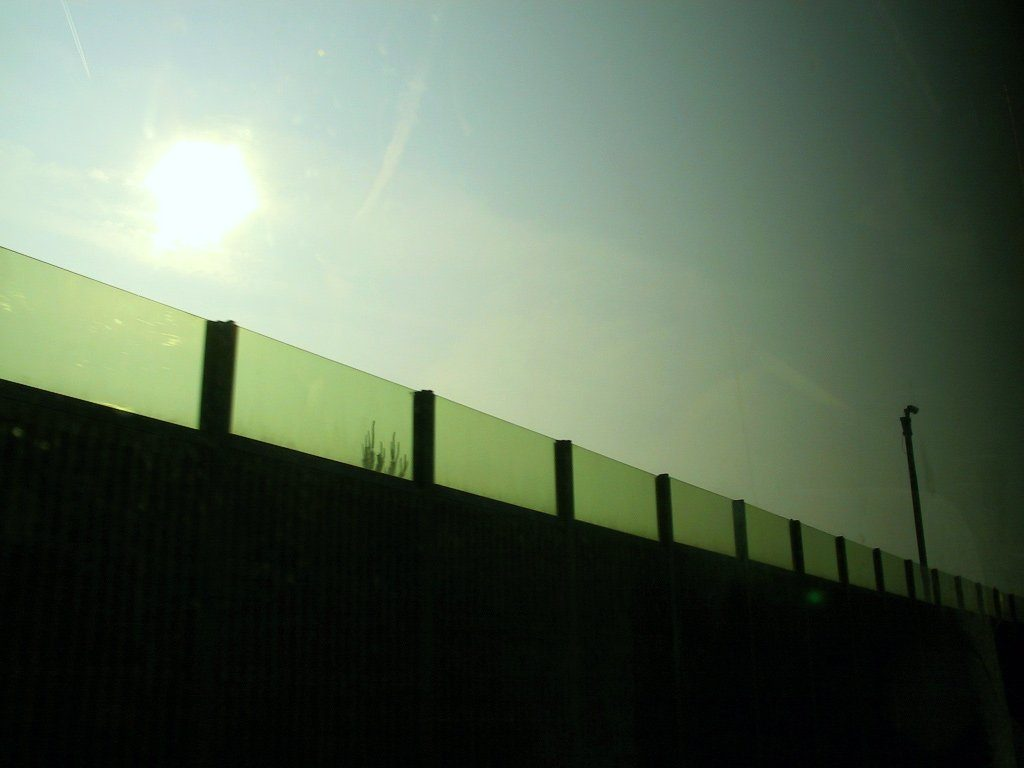 barrier silhouette 14595281 1024x768 - Smart Ways To Putting Surveillance Cameras
