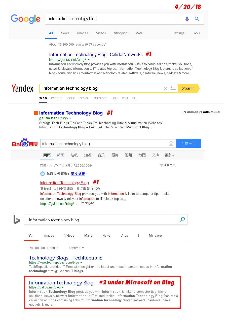 "informationtechnologyblog - Advertise Here or Submit a Blog Article!  <b>Top Google Search for ""Information Technology Blog"", ""IT Blog"", and ""Best IT Blog""</b>, competing with 1 Billion + results!"
