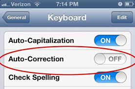 autocorrect off - 10 Ways to Optimize Your Mobile Commerce Shopping Cart