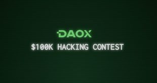 daox contest cover1 310x165 - Hack the DAO: Blockchain Startup Daox to Announce a $100K Hacking Contest