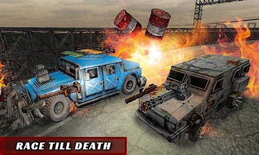 extremedeathracer - Top Best 3D Combat Car Racing Games