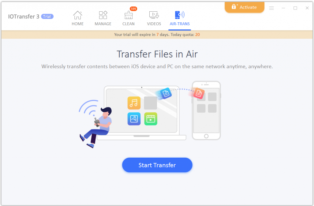 11.airtrans 1024x673 - IOTransfer, an iPhone/iPad Manager/ Video Downloader Review