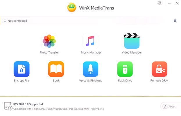 mediatrans2 - WinX MediaTrans Giveaway: Transfer iPhone Files without using iTunes
