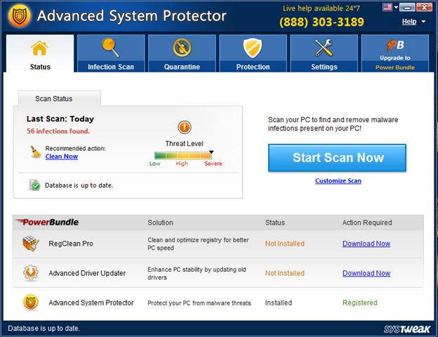 advancedsystemprotector - Top 7 Effective Antimalware Software for Windows 2020