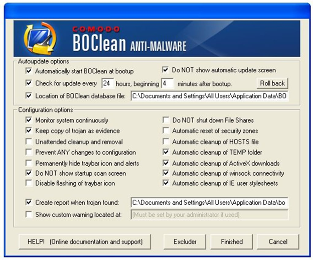 boclean - Top 7 Effective Antimalware Software for Windows 2020