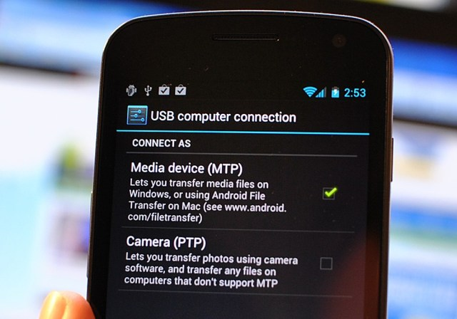 mtp protocol1 - How to Transfer Data from Android to Android in One Click