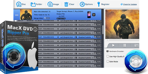 macdvdx - MacX DVD Ripper Pro: Copy and Rip Any DVD in 5 mins [Giveaway]