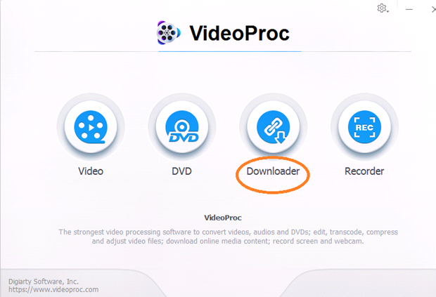 videoprocmenu - VideoProc Guide - How to Download and Cut YouTube Videos with Easy Steps