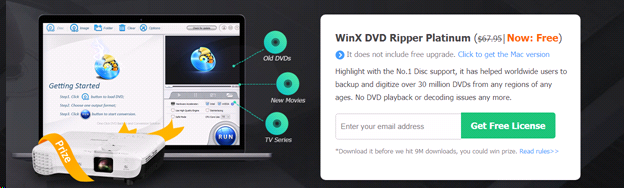 windvd6 - WinX DVD Ripper Platinum: The Fastest and Most Powerful DVD Ripper – Giveaway