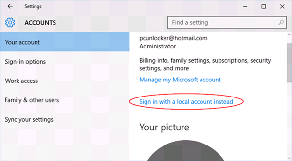 win10accounts - How to Secure Your Windows PC