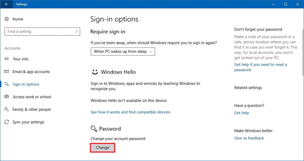 win10pw - How to Secure Your Windows PC