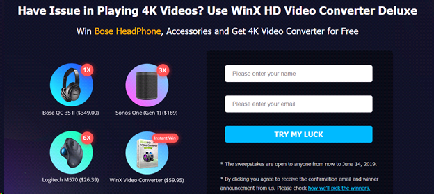 Winx Hd Video Converter Deluxe Reviews and Giveaway 2019