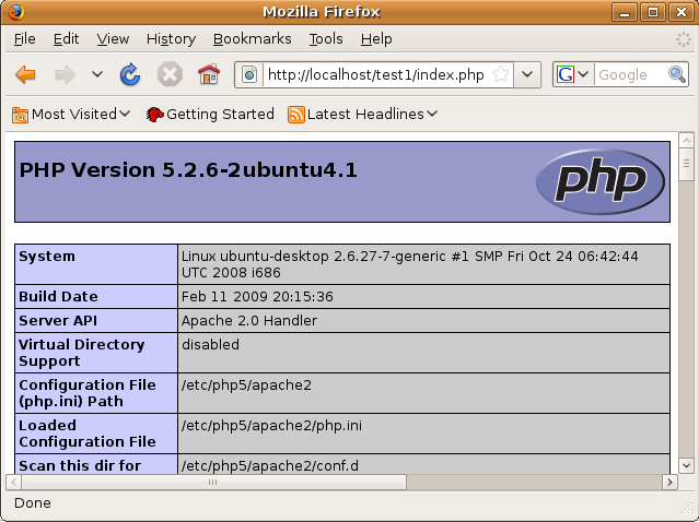 ubuntu phpinfo1 - 4 PHP Mistakes You Need to Avoid At All Cost