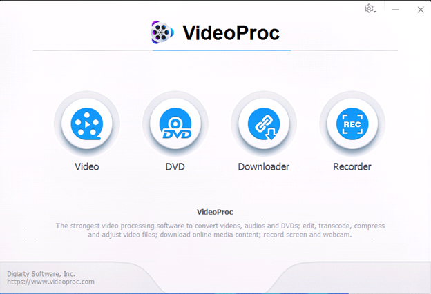 video proc2 - VideoProc, Best Program to Edit and Rotate 4K Videos
