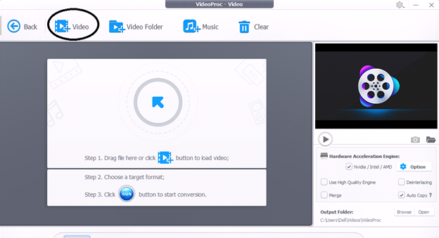 video proc3 - VideoProc, Best Program to Edit and Rotate 4K Videos