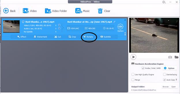 video proc4 - VideoProc, Best Program to Edit and Rotate 4K Videos