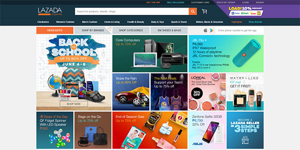 lazada philippines - Guide to Make a Website in 2019 (Step by Step)