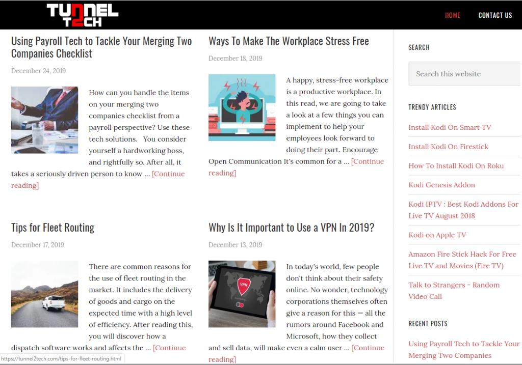 tunnel2tech 1024x717 - Tech Blogs - Best Must Read Tech Resources 2019, 2020