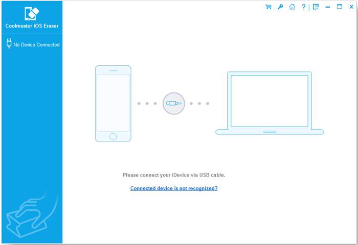 ios eraser connect1 - Coolmuster iOS Eraser: Effectively Erase All Data on Your iDevice