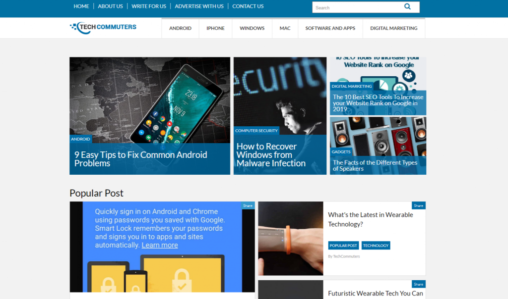 TechCommuters Know Tech Well 1024x604 - Top 20 Tech Websites & Blogs To Follow in 2020