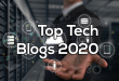 Top Tech Blogs 2020