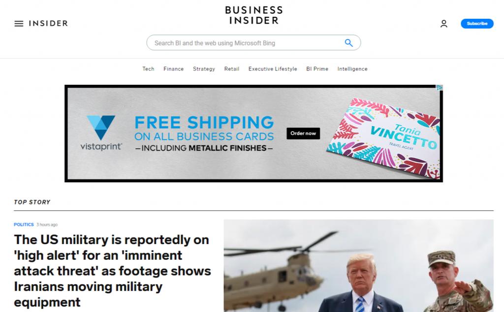Business Insider 1024x633 - For Tech Lover: Top 20 Best Tech Websites & Blogs That Must Visit!!