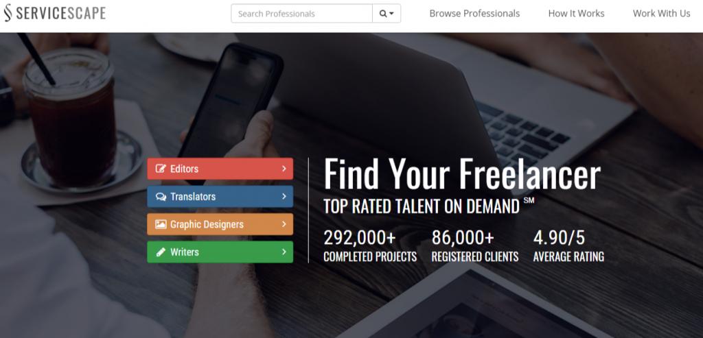 ServiceScape Find Your Freelancer 1024x493 - Best Freelancing Websites To Get Remote Work in 2020