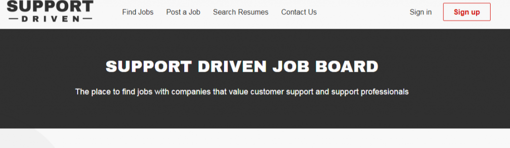 Support Driven Job Board 1024x299 - Best Freelancing Websites To Get Remote Work in 2020