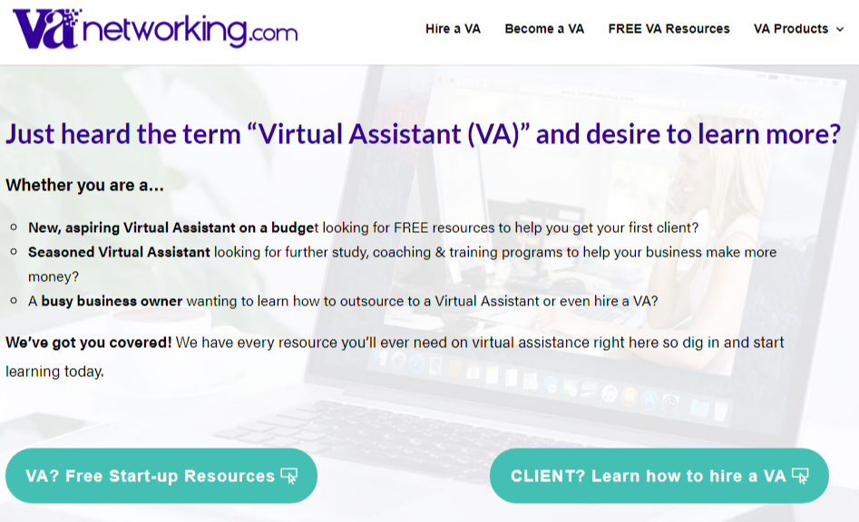 Virtual Assistant Training Resources Find a Virtual Assistant Job - Best Freelancing Websites To Get Remote Work in 2020