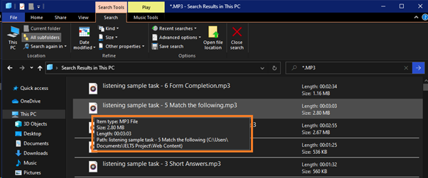 howtofindmusicfiles5 - How to Search and Find Music Files in Windows 10