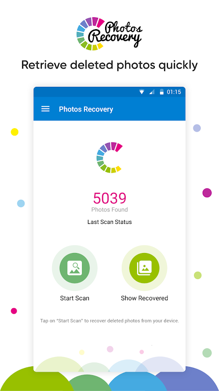 photorecovery1 - 3 Ways to Recover Deleted Photos on Android Device