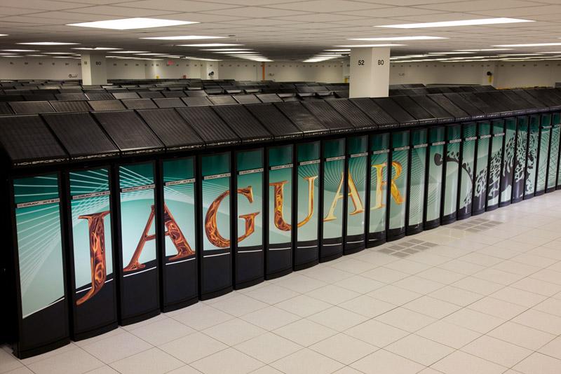 cray jaguar - World's fastest supercomputers 2012