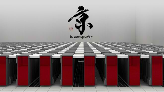 k computer fujitsu - World's fastest supercomputers 2012