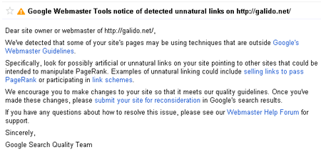 unaturallinks - Google Penguin Update - Dropped from the face of Google