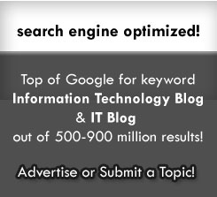 SEO bannr - Galido.net #1 on Google Search for Information Technology Blog and IT Blog on 3/20/12 - update